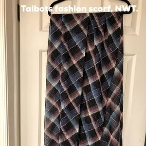 Talbots scarf. NWT. Make me an offer!